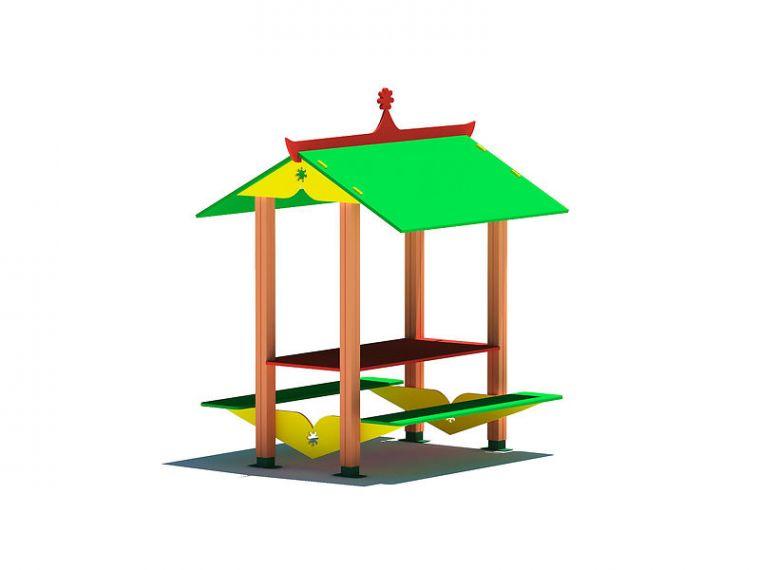 Детский игровой стол с навесом