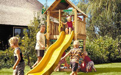 Игровая площадка Jungle Cabin