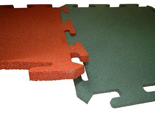 Резиновая плитка Rubblex 1000х1000
