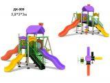 Детская площадка с горками