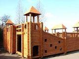 Деревянный дeтский игровой комплекс