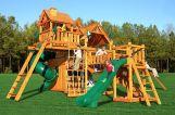 Деревянные детские городки